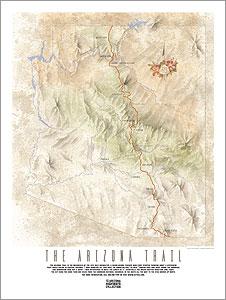 Arizona Trail Poster - Arizona Highways Store