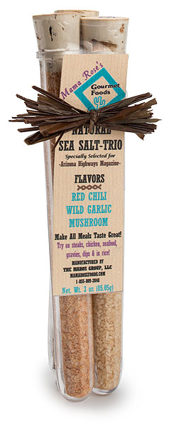 Natural Sea Salt Trio