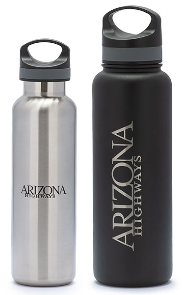 Arizona Highways Logo Water Bottles
