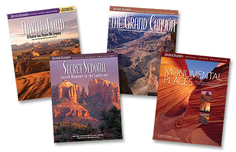 Set of Five Scenic Collection Books