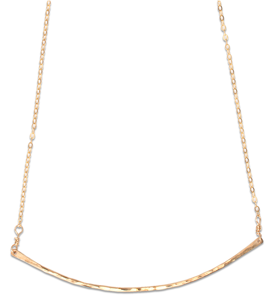 Artemis Gold Bar Necklace
