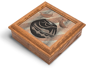 Navajo Sand Painting Keepsake Box