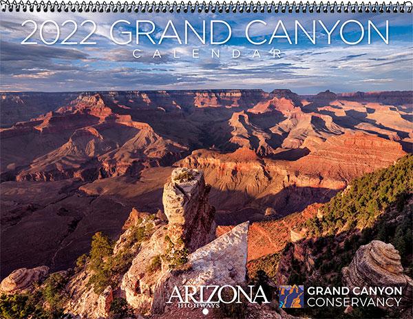 2022 Grand Canyon Wall Calendar