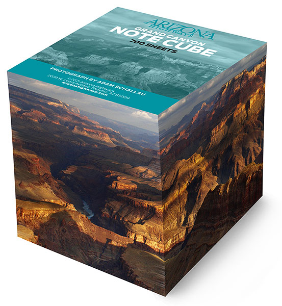 Grand Canyon Note Cube