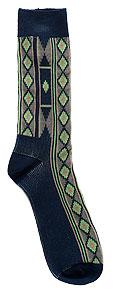 Men's Vertical Diamond Socks