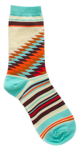 Women's Diamonds & Stripes Socks
