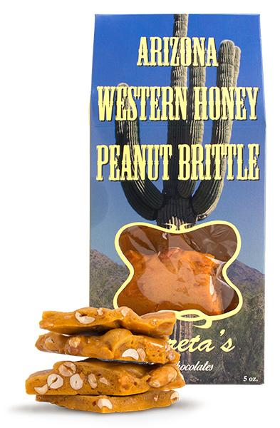 Arizona Western Honey Peanut Brittle