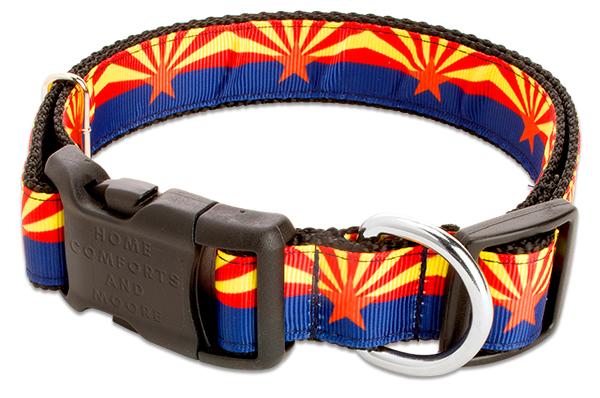 Arizona State Flag Dog Collar