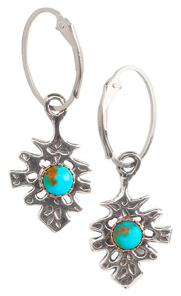 Hand-Cast Pine Cone Earrings